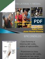 Epicondilitis Lateral y Medial....[1]