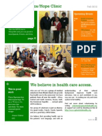 CEHC Newsletter Fall 2012