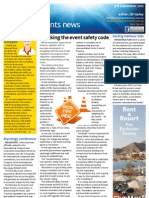 Business Events News for Mon 03 Sep 2012 - Event safety code, Nemonic showcases Argentina, Monaco, GBTA and much more