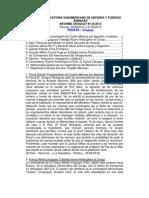 Informe Uruguay 26-2012