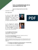 Apelaciones a la Administración de la Seguridad Social de USA