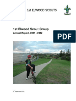 AGM Report 1st Elwood Scout Group 2011-12