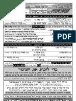 Dvar  yoim 1 15 09