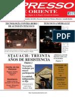 Expresso de Oriente 3 de Septiembre Del 2012