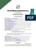 d Comité Editorial BJC, v.29, n.1, 2012