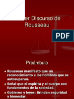 Discurso de Rousseau