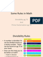 Divisibility and Pf