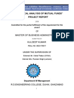 "22895041-""statistical-Analysis-of-Mutual-Funds""-Project-Report"