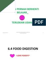 6.4 Food Digestion