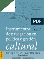 Instrumentos de navegación en política y gestión cultural