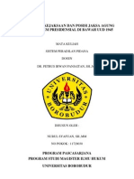 Kedudukan Kejaksaan Dan Posisi Jaksa Agung Dalam Sistem Presidensial Di Bawah Uud 1945