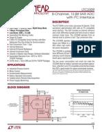 ADC Thermistor LTC2309