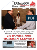 Honduras - El Trabajador Socialista - 83