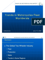 Trends in Motorcycle Fleet