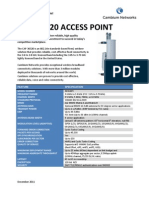 PMP 36320 Access Point Spec Sheet December2011