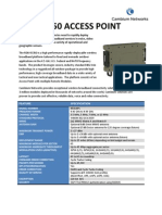 RDB45350 Access Point Specifications