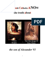 Do RCs Know about the image of Cesare Borgia?