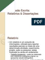 EE1-Relatórios & Dissertações