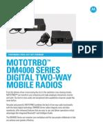 Mototrbo Dm4000series Spec Sheet