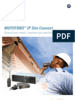 MOTOTRBO IP Site Connect Brochure ENG