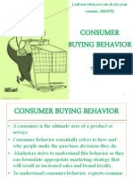 Consumer Buying Behavior Unit 2