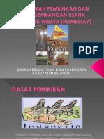 Pedoman Pembinaan Dan Pengembangan Usaha Pondok Wisata (