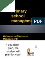 Topic 1-Primary School Management