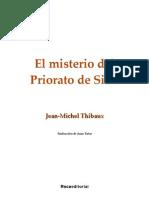 El misterio del Priorato de Sión - Jean-Michel Thibaux