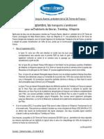Communiqué de presse lignes de bus - 29-08-2012