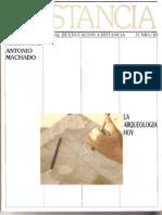 Notas Para Una Historia de La Arqueolog A