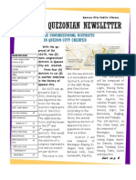 Quezonian Newsletter June 2012