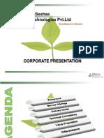 SriSeshaa Corporate Presentation