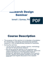 90-Research Design Seminar