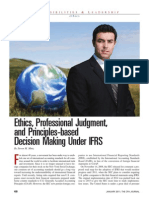 Ethics Judgment Ifrs