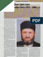 Život i djelo šejha Mustafe efendije Čolića (1921. - 2004.) - Mensur Valjevac (Novi Horizonti, 2009. god.)