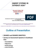 Gunigundo Assessment Systems in Southeast Asia
