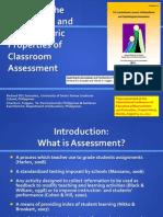 Gonzales and Fuggan Classroom Assessment