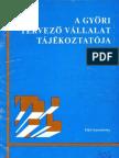 A Győri Tervező Vállalat tájékoztatója, 1976/1