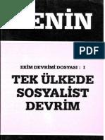 Tek-Ulkede-Sosyalist-Devrim-LENİN