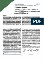 A Pharmacokinetic Study of Phenylcyclohexyldiethylamine