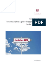 Marketing- und Aktionsplanung der TMN 2013