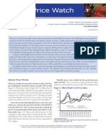 Food Price Watch, August 2012