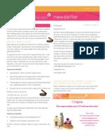 January Newsletter 2009