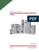 VFD TR200 IOM