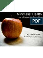Minimalist Health