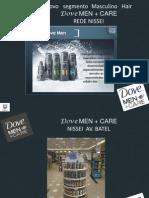 Inovação segmento masculino Hair-Dove Men + Care