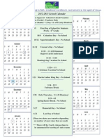 2012-13-academic calendar