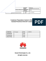 85446716 Customer Preparation Guide to iManager M2000 and PRS NASTAR VNP Installation 20110425 B 5 24