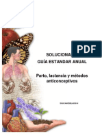 Solucionario 2012 Guía Parto lactancia y métodos anticoncpetivos