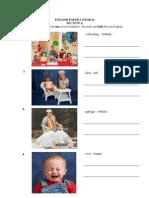 English Paper 2y4